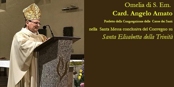Omelia Del Card Angelo Amato Sulla Figura Di Santa Elisabetta Della Trinita