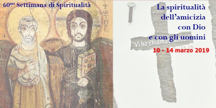 Sessantesima Settimana di Spiritualità