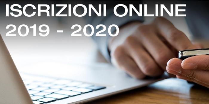 Iscrizioni Anno accademico 2019-2020