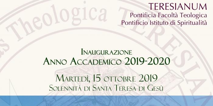 Inaugurazione Anno Accademico 2019 – 2020