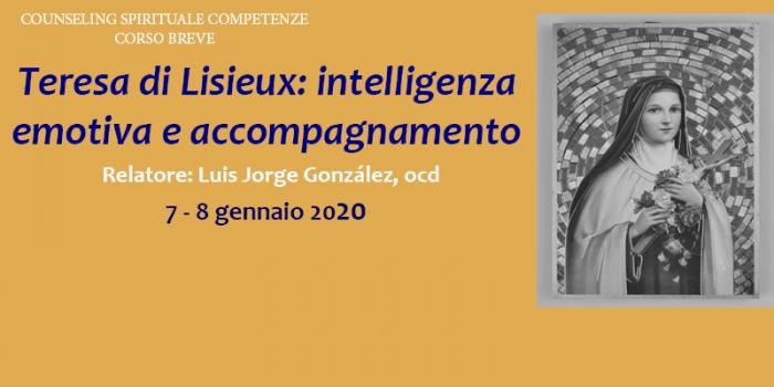 Corso breve Teresa di Lisieux: intelligenza emotiva e accompagnamento