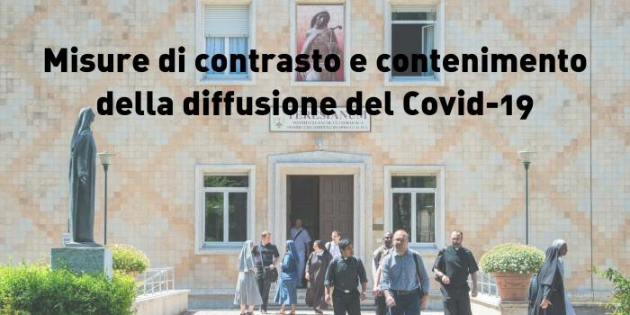 Misure di contrasto e contenimento della diffusione del Covid-19