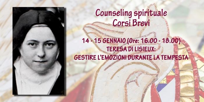 Corso Speciale Online – Teresa di Lisieux: gestire le emozioni durante la tempesta