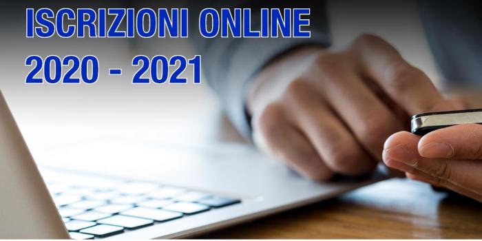 Iscrizioni all'Anno Accademico in corso 2020-2021
