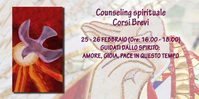 Corso speciale online: Guidati dallo spirito: amore, gioia, pace in questo tempo